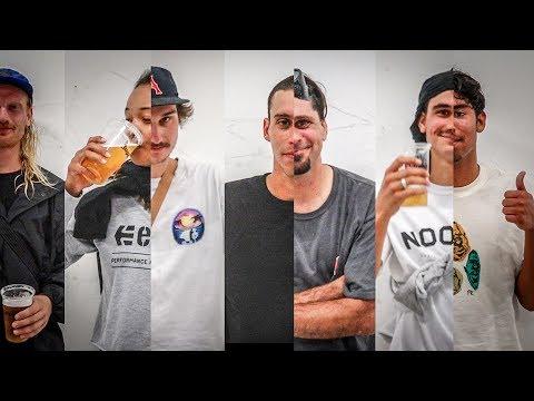 Enjoi Demo at Noord Skatepark (Louie Barletta, Zack Wallin, Thaynan Costa)