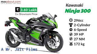 Kawasaki ninja series indian rates and review 2018