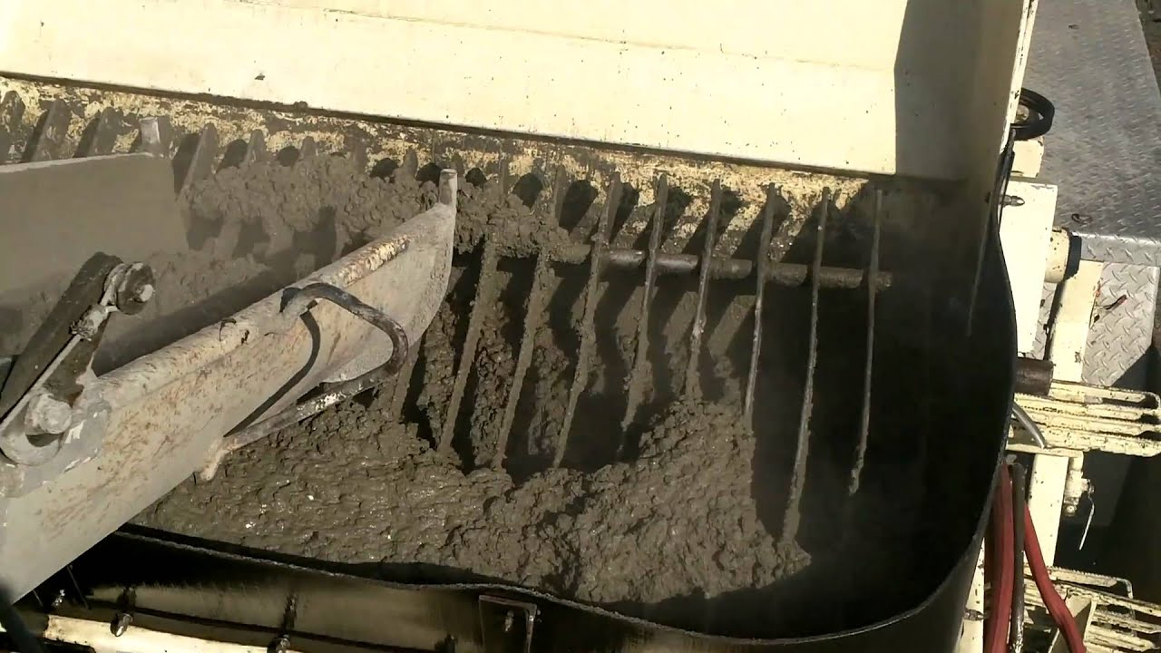 Chantier lachine pompe a beton mega youtube - Pompe a teton ...