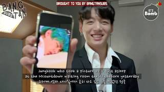 [ENG] 190817 [BANGTAN BOMB] JK taking a photo of members sleeping - BTS (방탄소년단)