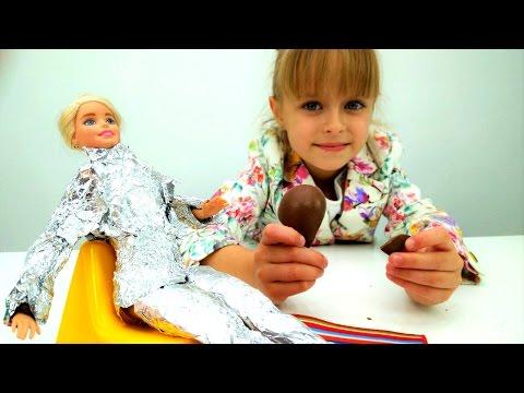 Мультик для девочек - Маша открыла салон для Барби