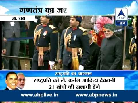 India celebrates 66th Republic Day l Tricolour unfurled