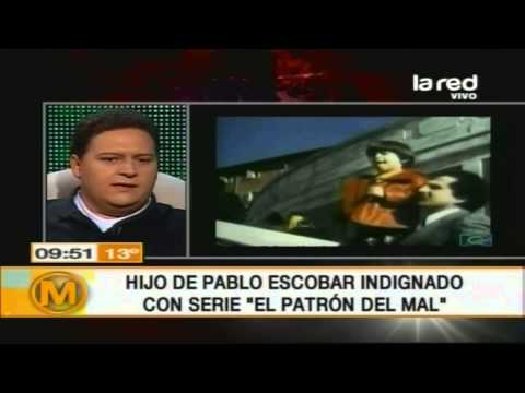 Hijo de Pablo Escobar revela secretos de su padre