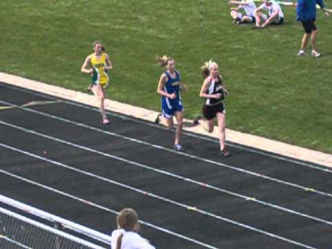 2012 Tri-City United Track & Field Invitational Meet - Girls 800 Meter Run (Heat 1 of 2)