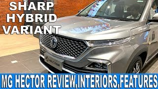 MG Hector Sharp Review | Price, Features, Interiors | Hindi