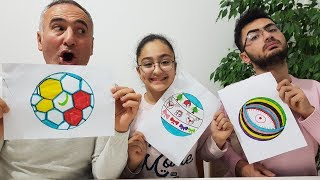 PAINT YOURSELF CHALLENGE !!! Happy Kids Games