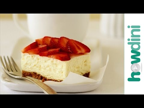Easy Cheesecake Recipe: How To Make Cheesecake - YouTube