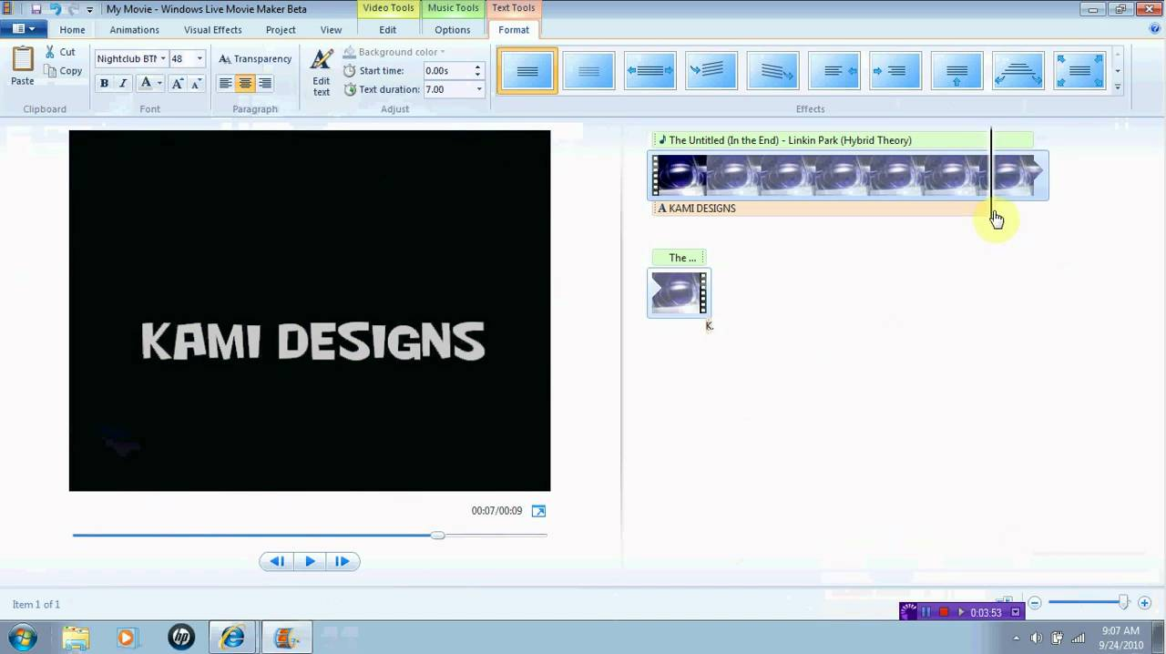 how to make professional videos with windows movie maker