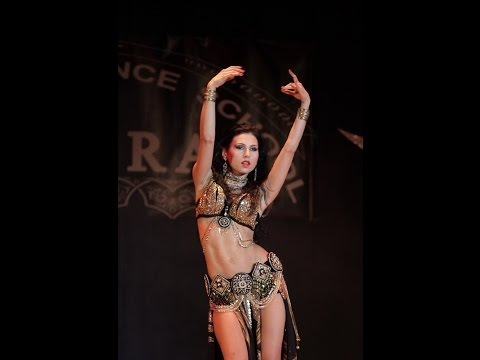 Sexy unique oriental belly dance - Goddes Ishtar - Amira Abdi