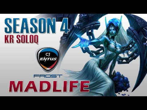 CJ Frost MadLife - Morgana Support - KR DuoQ