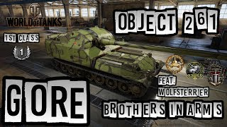 World of Tanks // Object 261 // 1st Class // Gore's Medal // Brothers in Arms // Xbox One