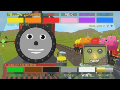 Help Shawn The Train Teach The Robot About Colors! (learn 13 Colors!) video