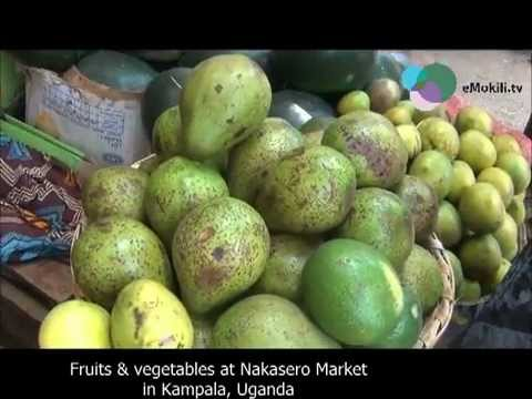 Fruits & vegetables at Nakasero Market