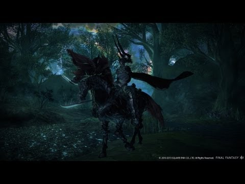 Final Fantasy XIV: A Realm Reborn ODIN World Boss Kill FATE Battle HD+