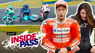 MotoGP 2019 Spain: Dovi & Vanessa Try The Airbag Suit | Inside Pass #4
