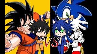 Goku VS Sonic ~GACHA VERSE~
