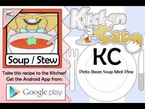 Pinto Bean Soup Mint Pine - Kitchen Cat
