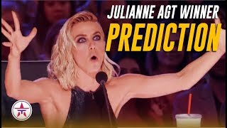 Julianne Hough PREDICTS The AGT Winner! Do You Agree? | America's Got Talent