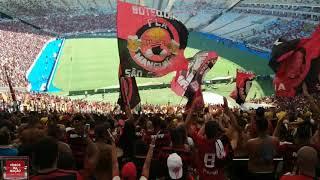 Torcida do Flamengo contra o Bangu - Carioca 2019