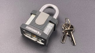 [970] I Made a Mistake: This Brinks Padlock is Worse Than I Thought