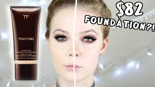 TOM FORD WATERPROOF FOUNDATION REVIEW & DEMO | FOUNDATION COMPARISONS