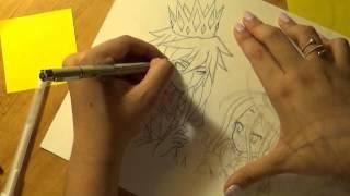 Drawing Sora and Shiro: No game No Life Anime