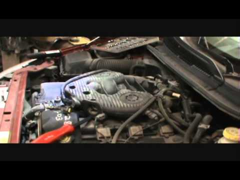 2001 dodge intrepid 2.7 coolant housing replace and wife even helped