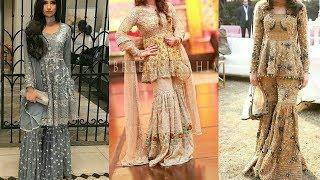 Stylish & Beautiful Sharara Dresses Design Collection For Girls/Top Best Sharara Dresses Design 2018