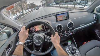 Audi A3 Limousine | 4K POV Test Drive #157 Joe Black