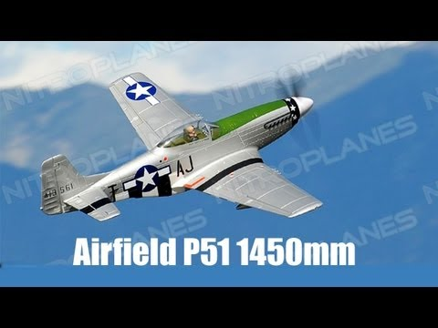 Unboxing: Airfield P51 1450mm Remote Control RC Plane