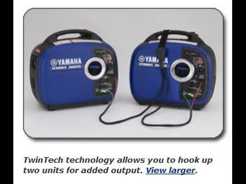 Yamaha EF2000iS, 1600 Running Watts 2000 Starting Watts, Gas Powered Portable Inverter, CARB Complia