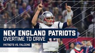 Tom Brady Leads Game-Winning Overtime TD Drive! | Patriots vs. Falcons | Super Bowl LI Highlights