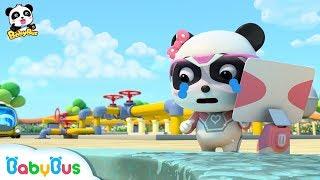 Super Bayi Panda Menyelesaikan Misi Pipa Gas Yang Bocor | Kartun Anak | Bahasa Indonesia | BabyBus