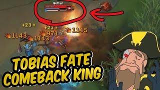Tobias Fate - COMEBACK KING   Tobias Fate Game Highlights