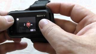 обзор пульта управления Live-View (RM-LVR1) для Sony HDR-AS100v.mp4