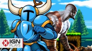 Become Kratos in Shovel Knight - IGN Plays