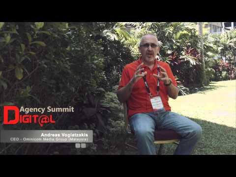Andreas Vogiatzakis, CEO - Omnicom Media Group (Malaysia)