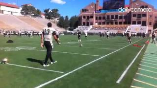 #Cuufs warm up for scrimmage on Saturday #boulder