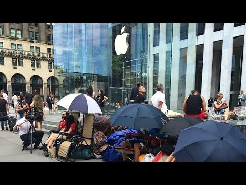 Iphone 6 customers face delays due to record orders