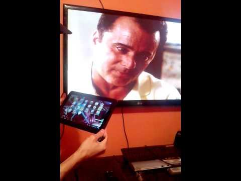 Como ligar tablet na tv usando cabo Hdmi