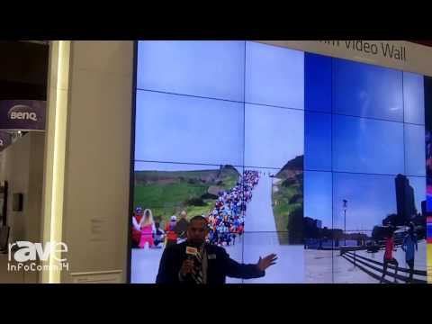 InfoComm 2014: LG Exhibits the 55LV75A Slim Narrow Bezel Video Wall