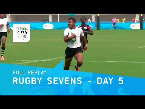 Rugby Sevens - Medal Matches | Full Replay | Nanjing 2014 Youth Olympic Games