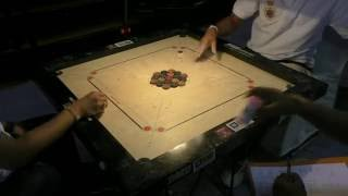 BEST CARROM SUSPENSE AND FINISH EVER, Sandeep Deorukhkar, ICF Cup Delhi