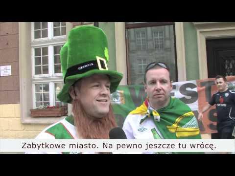 Hiszpanie I Irlandczycy O Gdańsku/Spanish And Irish Fans About Gdansk