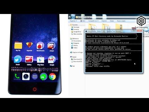 Como instalar las Google Apps en el ZTE Nubia Z7 Mini
