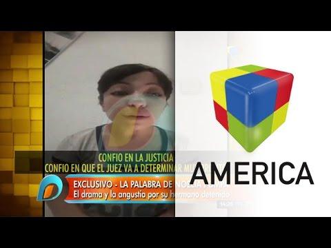 Noelia Pompa, tras la detención de su hermano: No tiene nada que ver