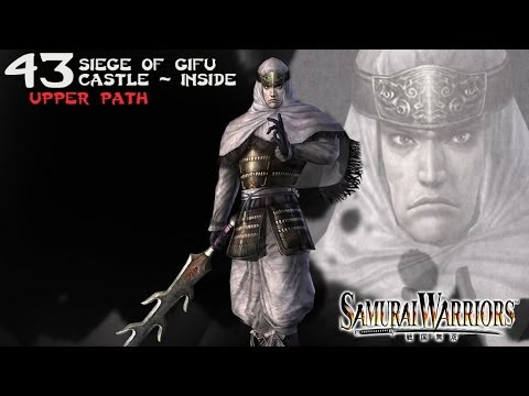 Samurai Warriors (43b) Kenshin - Upper Path - Siege of Gifu Castle (Inside)