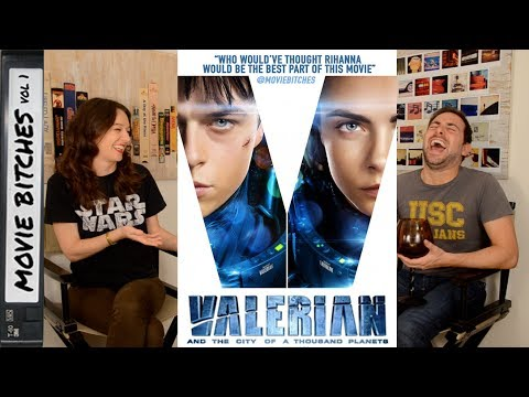 Valerian And The City Of A Thousand Planets   Movie Review   Movie Bitches Ep 157