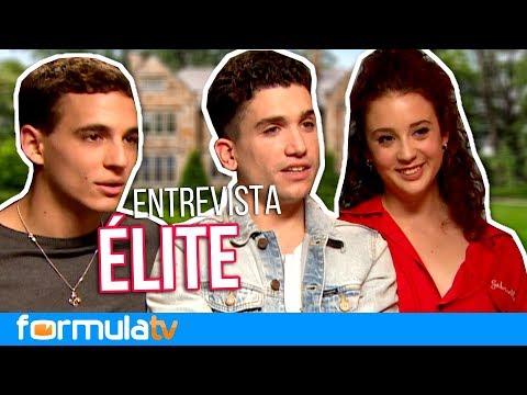 ÉLITE: Miguel Herrán, Jaime Lorente y María Pedraza presentan a sus personajes