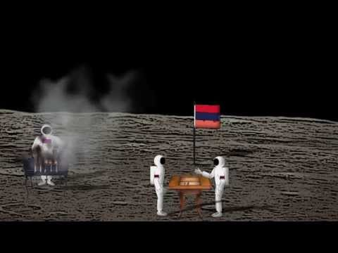 Армяне на Луне/Armenians on the Moon